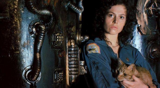 Un'immagine di Ripley in Alien