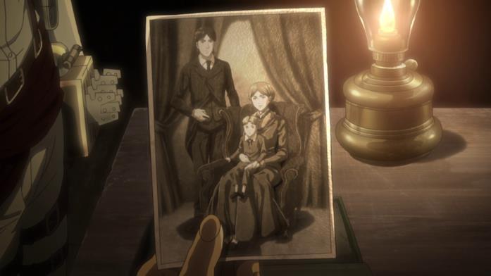 La foto della famiglia di Grisha