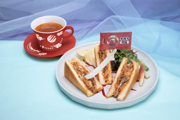Inuyasha cafè cibo