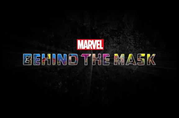 Il logo di Marvel's Behind the Mask