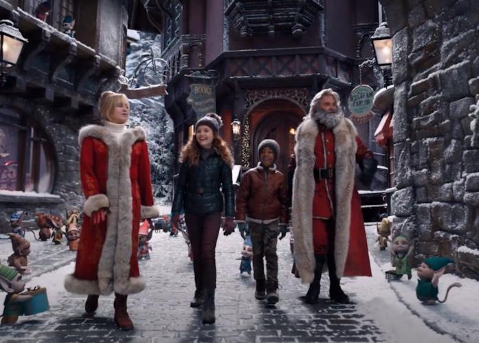 I protagonisti di Qualcuno salvi il Natale 2