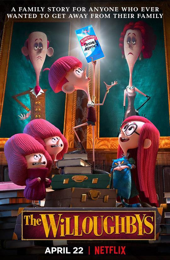La famiglia Willoughby - film animazione Netflix
