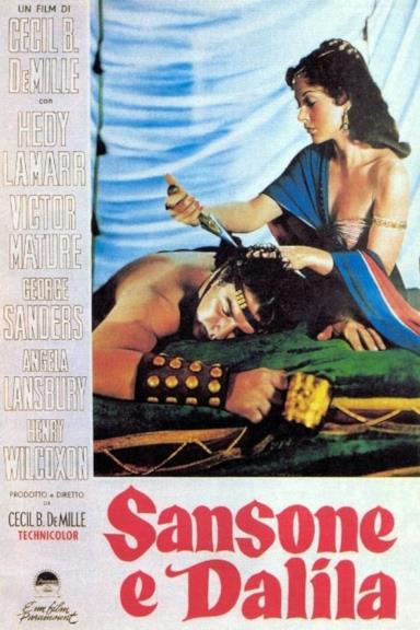 Poster Sansone e Dalila