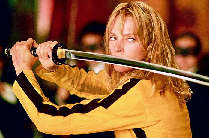 Uma Thurman, protagonista principale di Kill Bill
