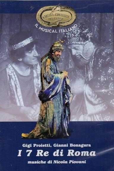 Poster I 7 Re di Roma