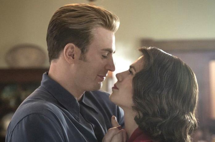 Captain America e Peggy Carter