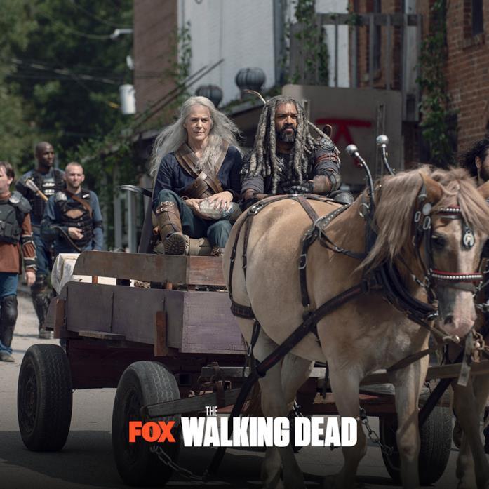 I nuovi episodi di The Walking Dead 9: Carol ed Ezekiel
