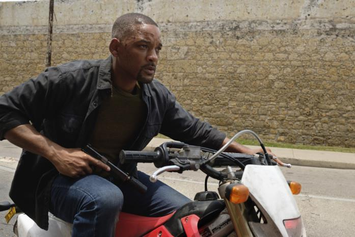 Will Smith in moto