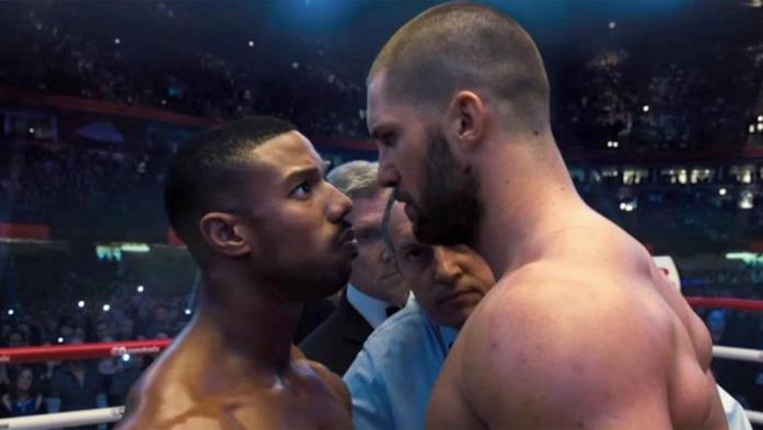 Una scena di Creed II