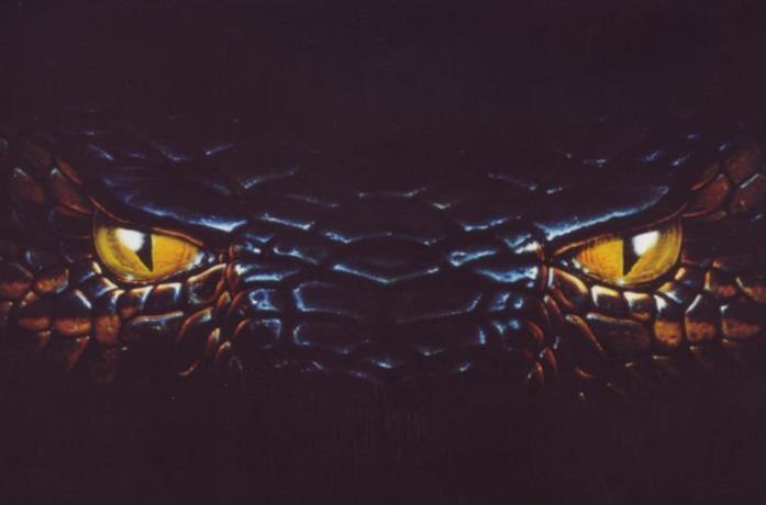 Un dettaglio del poster di Anaconda