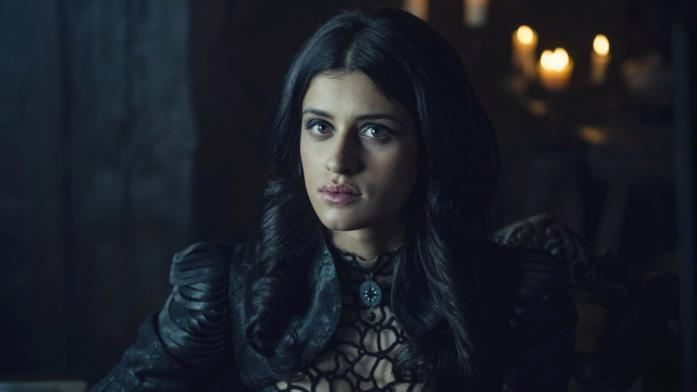 Anya Chalotra in The Witcher