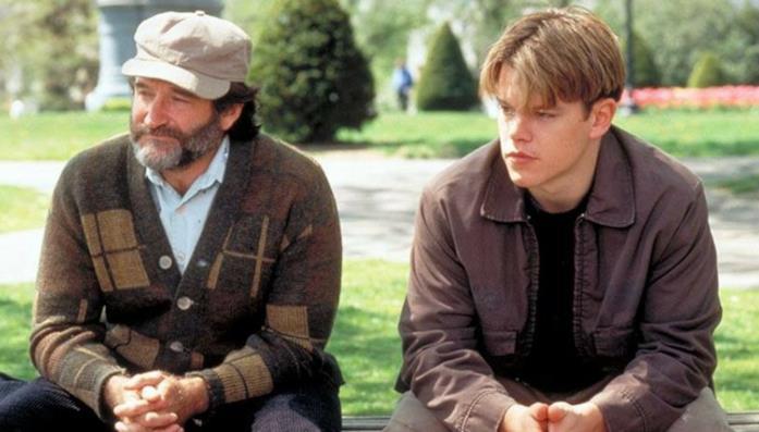 Un'immagine del film Will Hunting - Genio ribelle