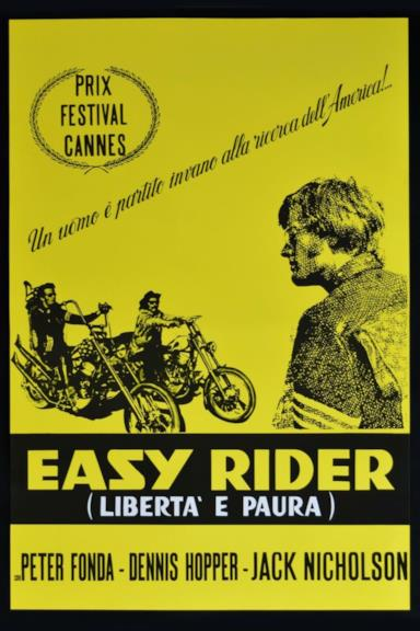 Poster Easy Rider - Libertà e paura