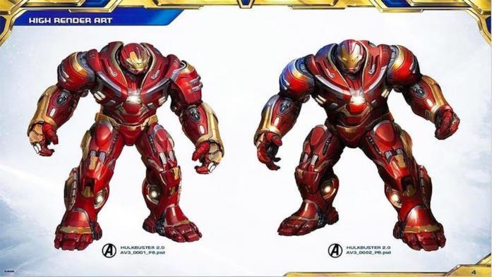 Il nuovo design della Hulkbuster realizzato per Avengers: Infinity War