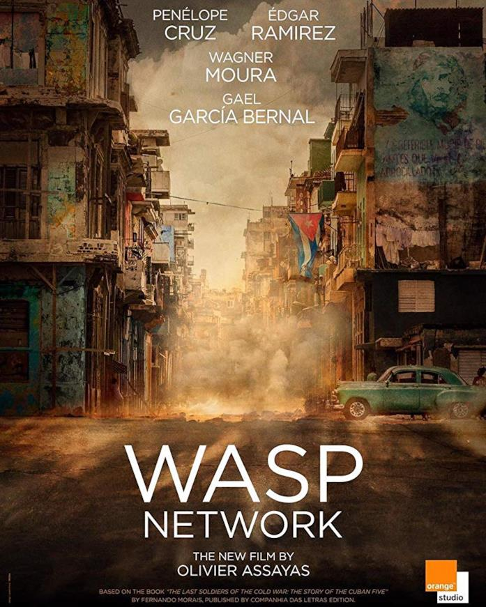 Il poster ufficiale di Wasp Network