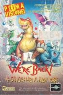Poster We're Back! - Quattro dinosauri a New York