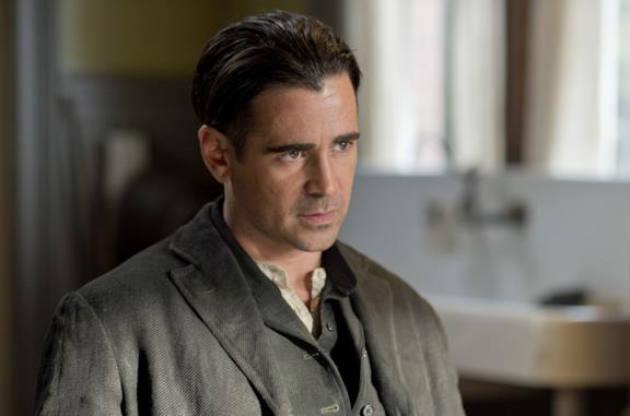 Colin Farrell è Peter Lake in Storia d'Inverno