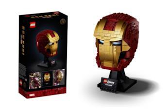 Il casco LEGO di Iron Man