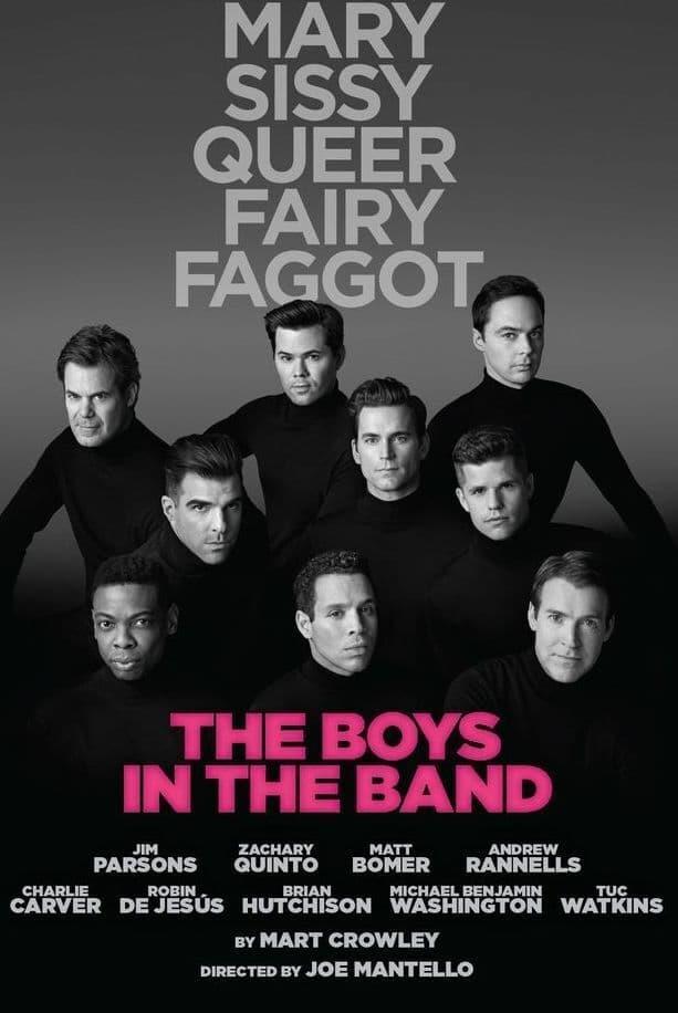 Il cast di The Boys in the Band