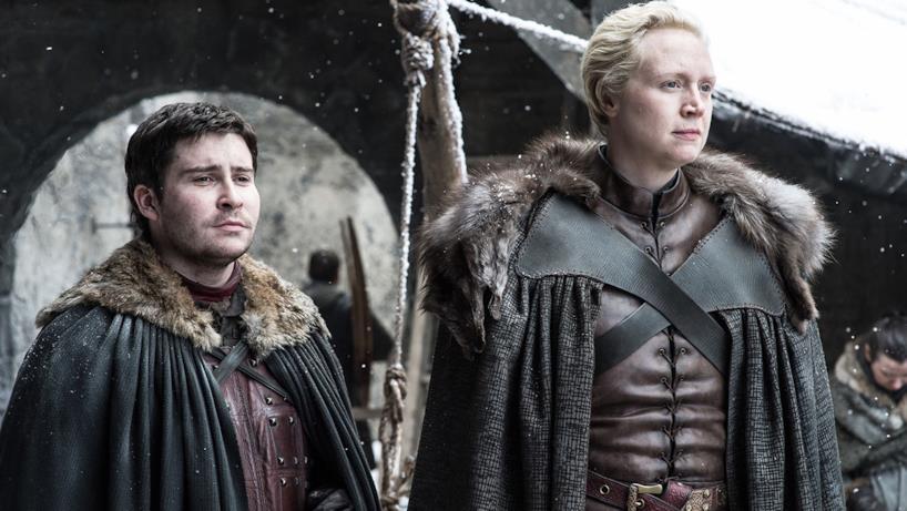 Brienne e Podrick