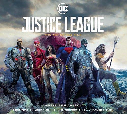La copertina di Justice League - The art of the film