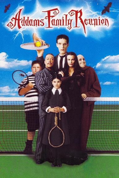 Poster La famiglia Addams si riunisce