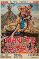 Poster Maciste nell'inferno di Gengis Khan