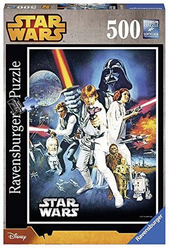 Ravensburger 14662 Star Wars Guerre Stellari Puzzle, 500 Pezzi