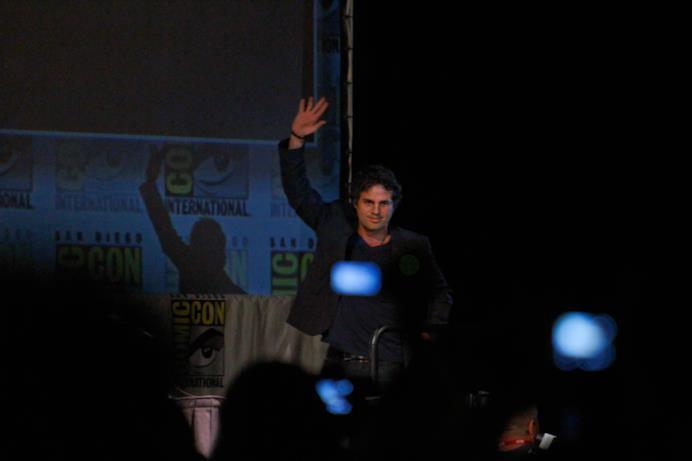 Mark Ruffalo fa il suo debutto come nuovo Hulk sul palco di SDCC 2010
