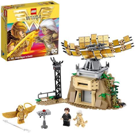 Il box e una panoramica del set LEGO 76157