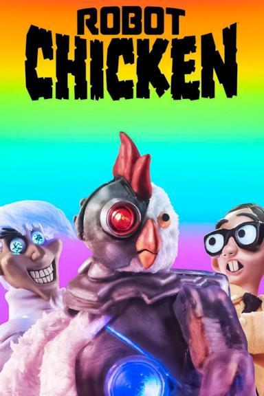 Poster Robot Chicken