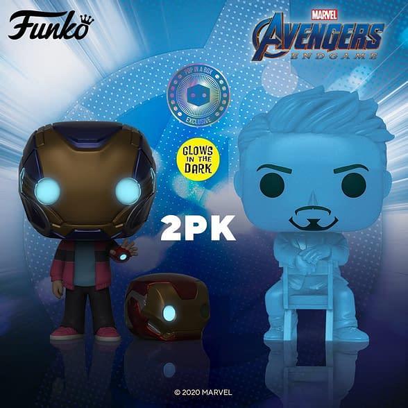 Arrivano i nuovi Funko Pop! di Tony e Morgan Stark