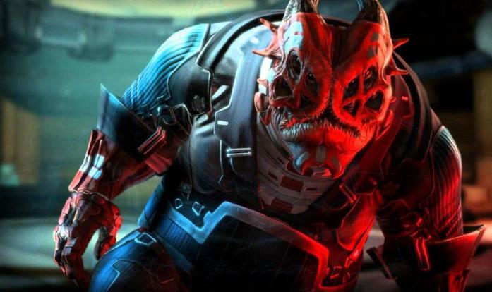 Gli Yahg di Mass Effect
