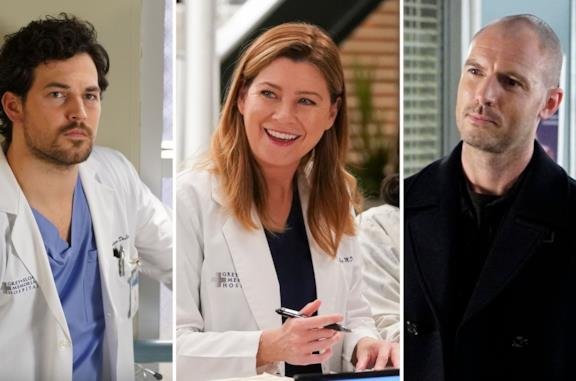 DeLuca, Meredith e Hayes