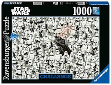 Ravensburger Puzzle - Star Wars Challenge Puzzle, 1000 Pezzi, 14989 6
