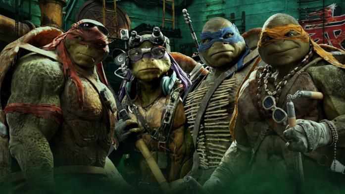 Le Tartarughe Ninja nel film 2014