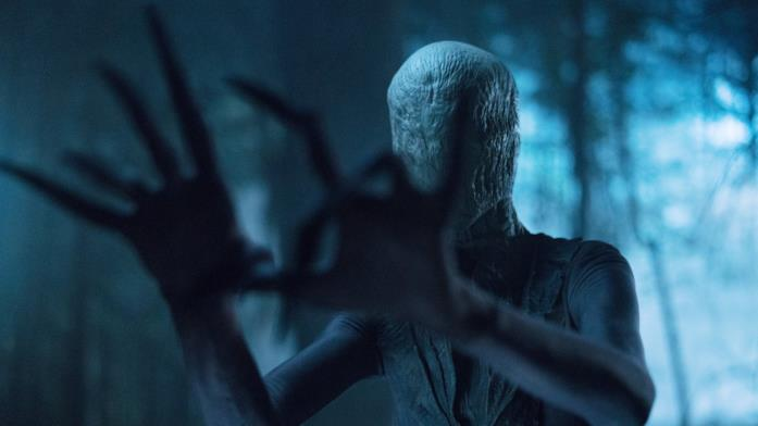 Lo Slender Man è interpretato da Javier Botet
