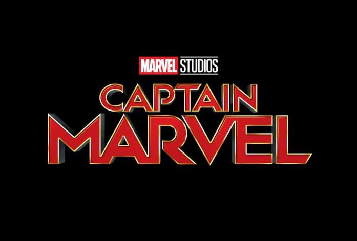 Il logo ufficiale di Captain Marvel dei Marvel Studios