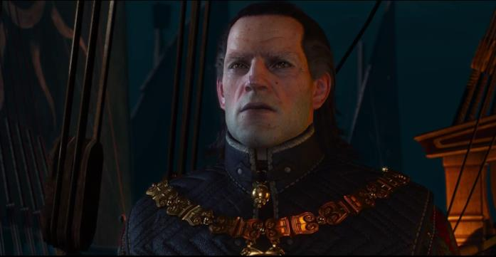L'Imperatore Emhyr in The Witcher 3