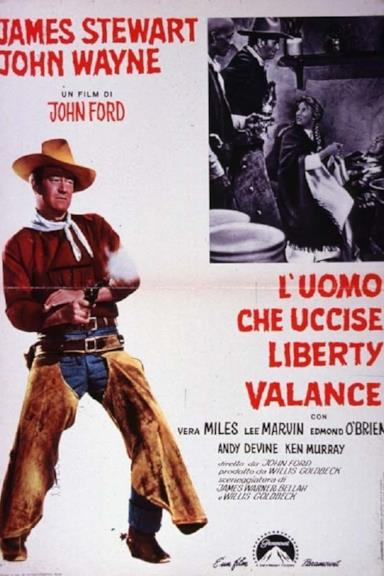 Poster L'uomo che uccise Liberty Valance