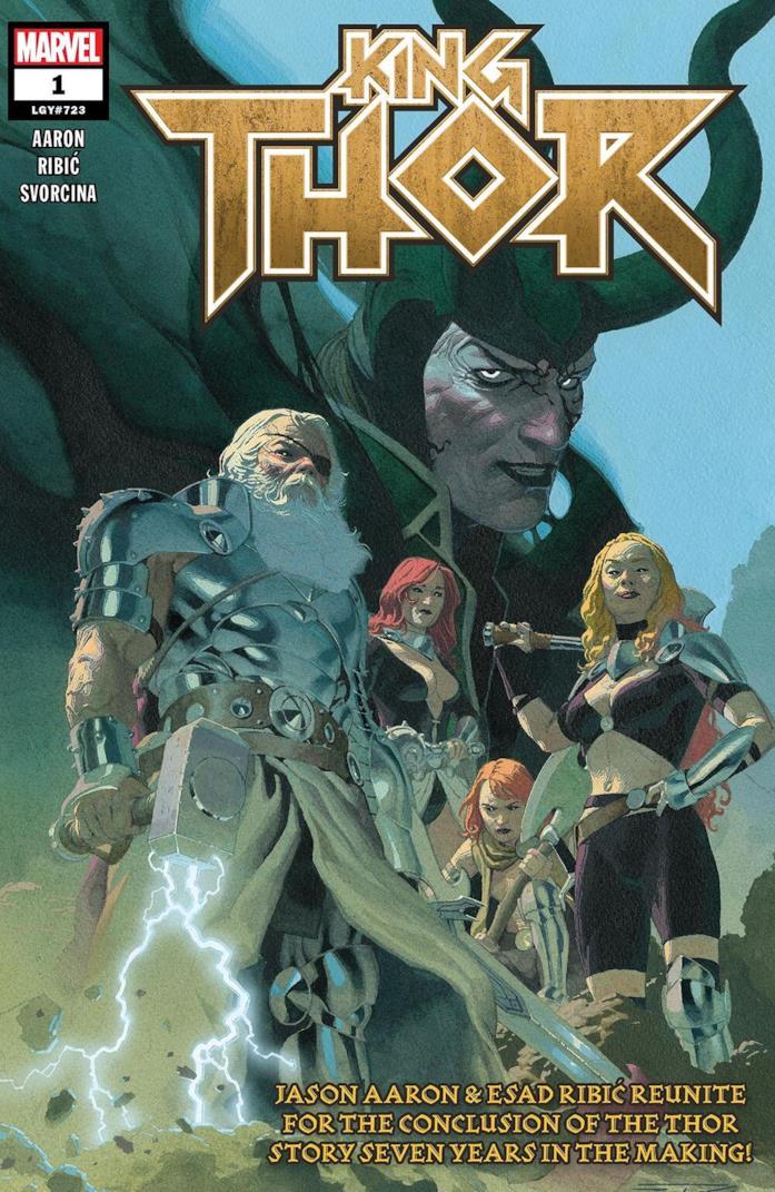 La cover di King Thor