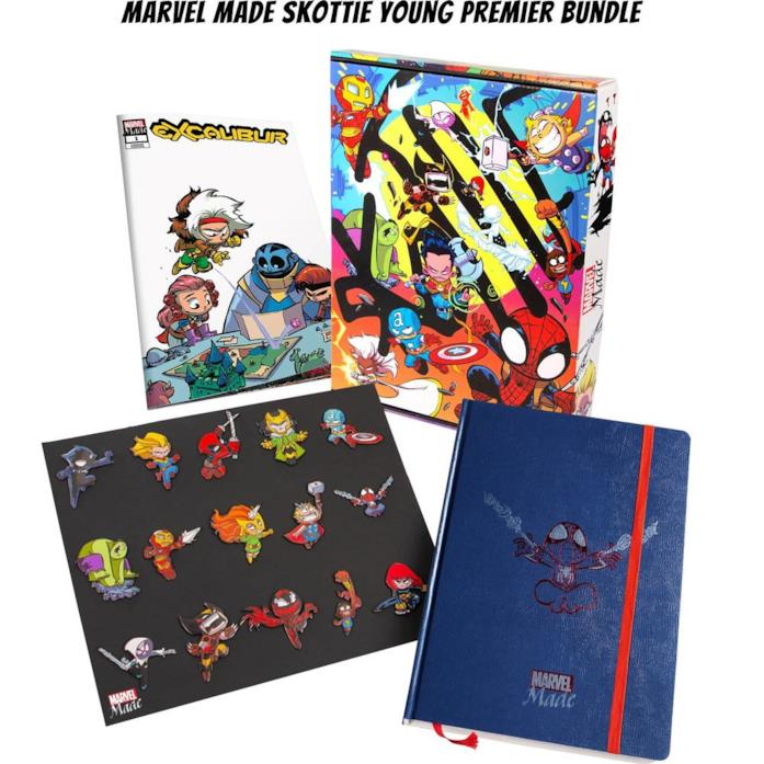 Marvel Made: svelati i contenuti dello Skottie Young Premier Bundle
