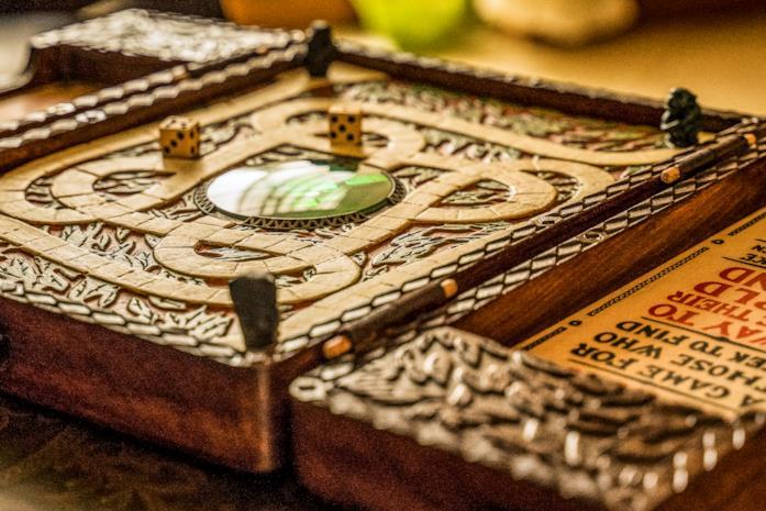 La prima replica del boardgame Jumanji