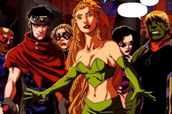 Sylvie e i Giovani Vendicatori nei fumetti