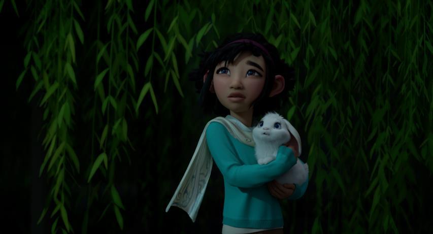 Il coniglio bianco di Fei Fei