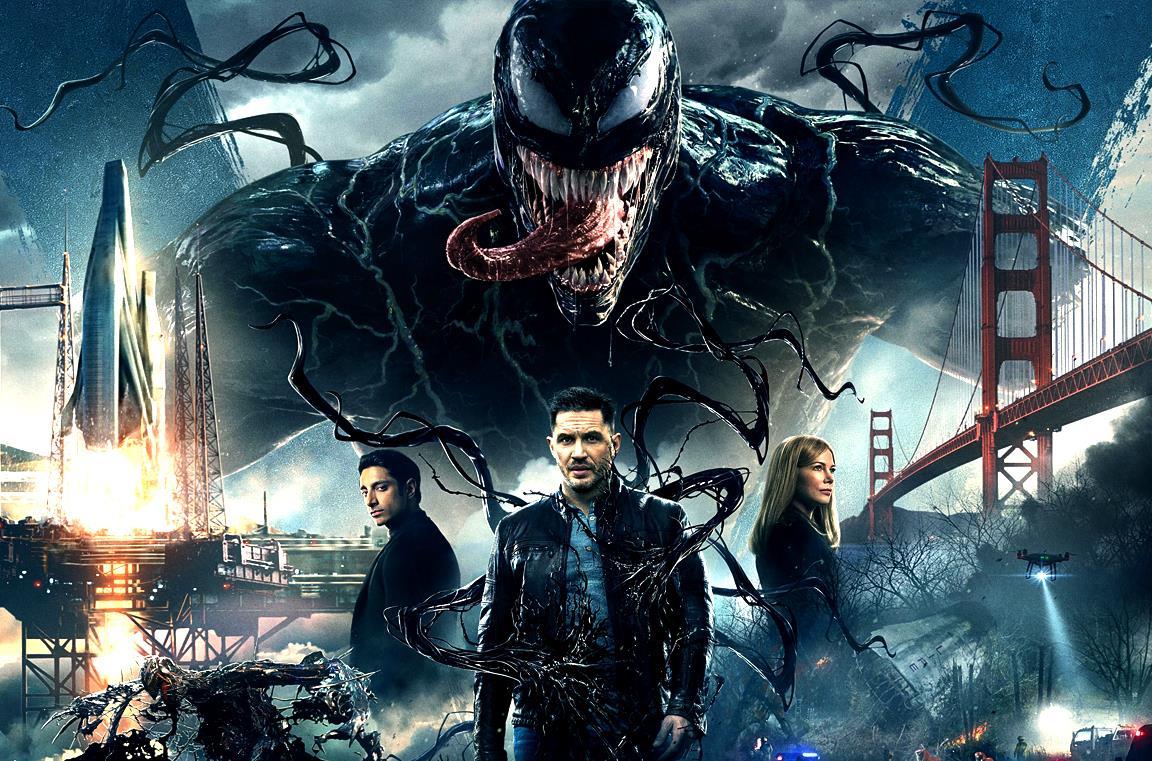 Venom: Let There Be Carnage, Tom Hardy svela la nuova data e il logo