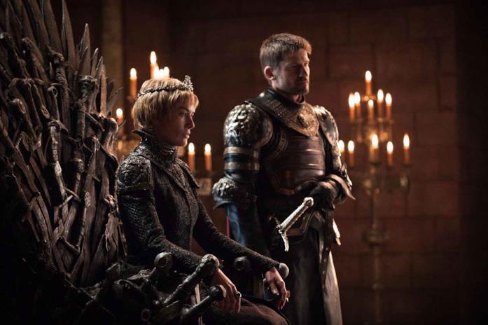 Cersei sul trono di spade