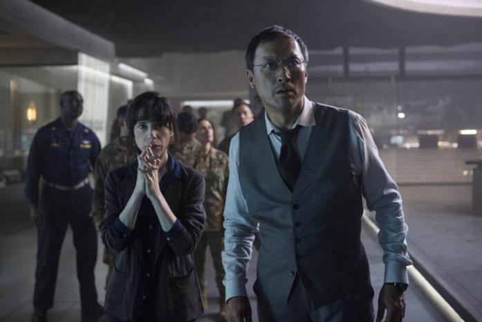 Sally Hawkins e Ken Watanabe in Godzilla II