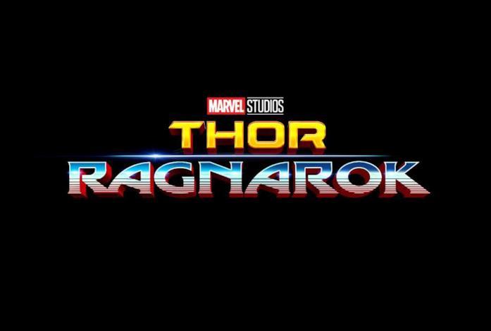 Il logo ufficiale di Thor: Ragnarok degli Studi Marvel
