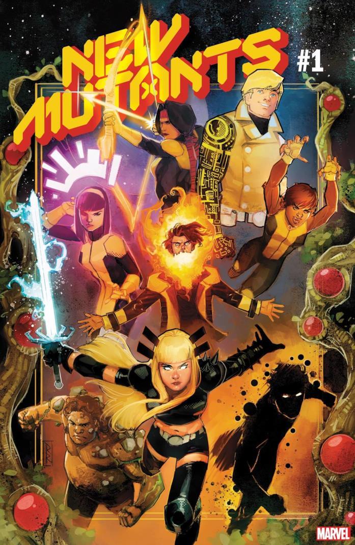 Cover di New Mutants #1